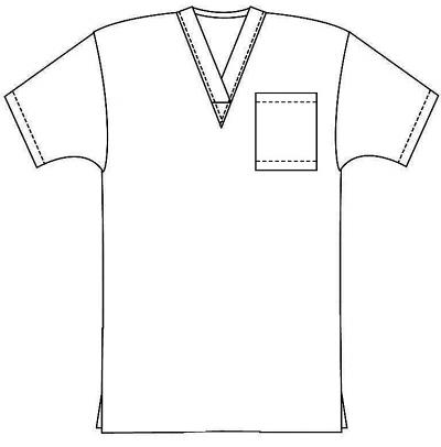 Scrub set $11.50 2 pocket normal unisex solid half sleeve (top 1 pocket with bottom 1 pocket)