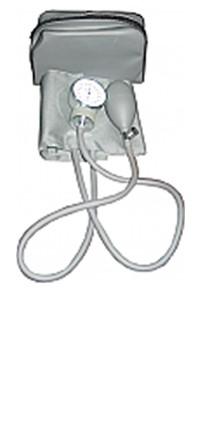 Aneroid cuff in grey color
