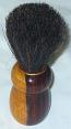 Barber shaving brush wooden base