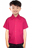 Children poplin shirt 1 chest pocket