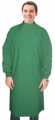 Surgical gown in full sleeve with rib