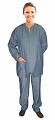 Denim jacket 2 pocket solid full sleeve unisex with rib
