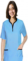 Set 5 pocket ladies half sleeve tunic style solid (top 2 pocket with bottom 3 pocket)