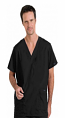 Stretchable Scrub set 5 pocket solid unisex cargo with pencil pocket top half sleeve (2 pkt top, 2 pkt pant) 1 cargo pkt 1 back pkt in 97% Cotton 3% Spandex