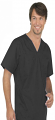 Stretchable Top v neck without pocket solid half sleeve mens in 97% Cotton 3% Spandex