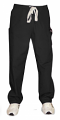 Stretchable Pant 2 cargo pocket waistband with elastic and drawstring both unisex in 97% cotton 3% Spandex