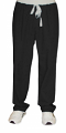 Stretchable Pant no pocket no elastic cord only waistband unisex in 97% cotton 3% Spandex