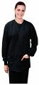 microfiber jacket 2 pocket full sleeve solid unisex with  rib (2 front pocket).