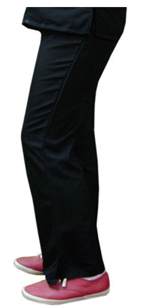Microfiber pant bootcut 2 side pocket waistband with drawstring and elastic both ladies