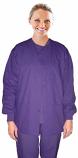 Jacket 3 pocket solid unisex full sleeve with rib