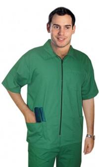 Barber set with 9 pockets  (jacket 3 pocket with bottom 6 pocket cargo) poplin fabric