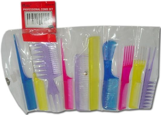 Professional comb set - 10pcs