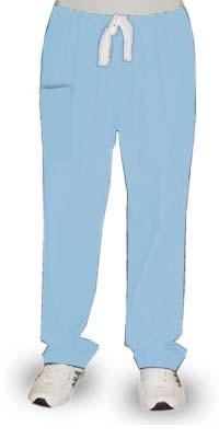 Pant 2 pockets (1 cargo pocket 1 back pocket) waistband with elastic and drawstring both unisex