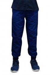 Pant 6 pocket 2 side pocket 2 cargo pocket with cell phone pocket 1 back pocket half elastic waistband unisex with Rib