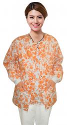 Jacket 2 pocket printed unisex full sleeve printed in multiple designs with rib