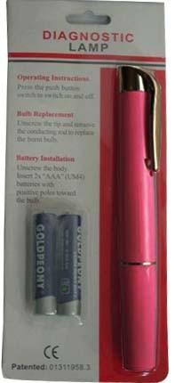 Slim pen light