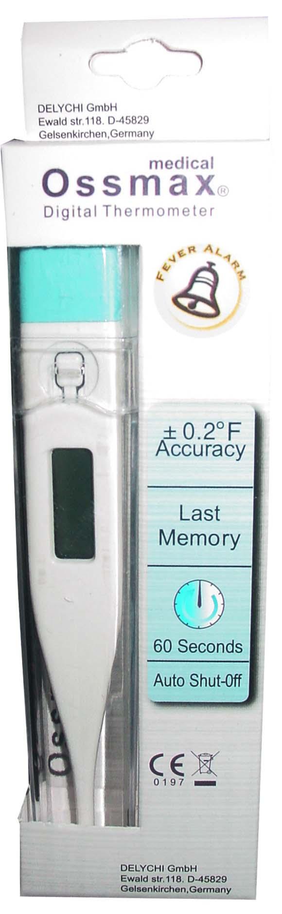 60 sec digital thermometer