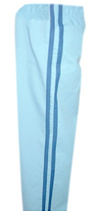 Children scrub bottom 1 back pocket double strip style