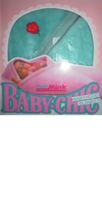 Plush mink baby chic babyhood baby blanket
