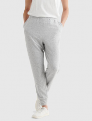 Jogger Scrub Pant Unisex 2 Side Pocket with Drawstring in Heather Grey Color / Sizes M-L-2X