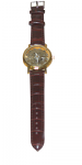 Mens golden dial watch