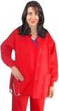 Jacket 2 pocket solid unisex full sleeve with rib