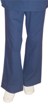 Pant 2 side pockets flare leg waistband with drawstring and elastic both ladies