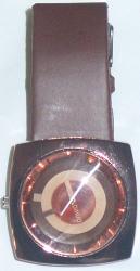 Brown color belt watch