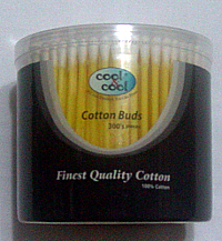 Cool & cool cotton buds 300 pieces
