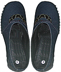 Denim style ladies nursing shoes