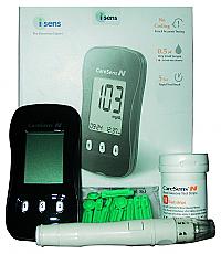 Caresens blood glucose monitoring system - glucose meter