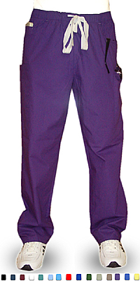 Pant 5 pocket 2 side pocket 2 cargo and 1 coin  pocket waistband with drawstring and elastic both unisex