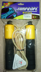 Sports jump rope with jump counter