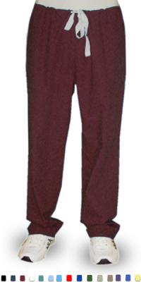 Pant 1 back pocket reversible no elastic cord only unisex