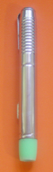 Slim torch with metal body