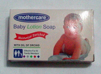 Mothercare baby lotion soap