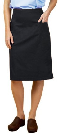 Cargo pockets ladies skirt (poplin fabric)