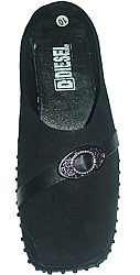 Black belt style  ladies nursing shoes